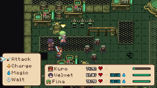 Evoland II is a grand-scale mashup of generations of games