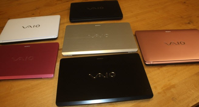 Sony unveils Haswell-based Vaio laptops that can be converted into tablets