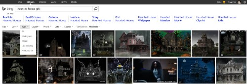 Bing image search now lets you filter by animated GIF