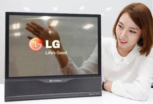 LG cooks up more flexible & less hazy 18-inch OLED panels