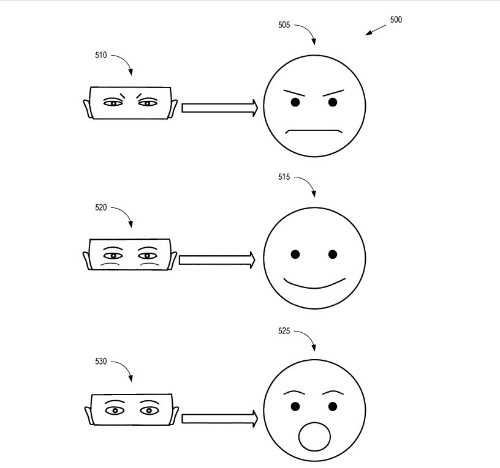 Google files patent for eye-tracking system that reads expressions for VR