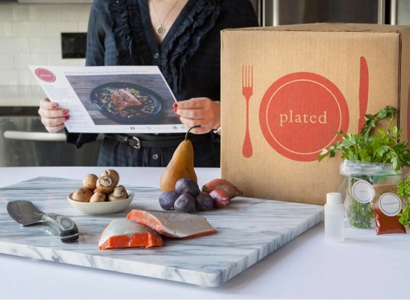 Plated delivers ingredients and prep instructions to your door