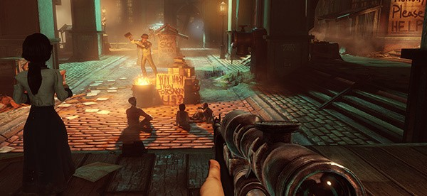 How BioShock Infinite's social commentary advances video game storytelling