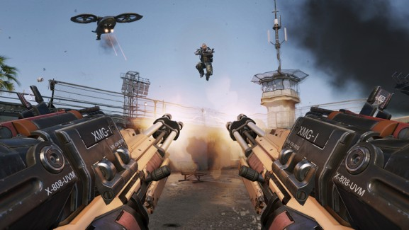 Call of Duty: Advanced Warfare multiplayer video details the shooter's double jumps, exo suits, and 'rocket strafing'