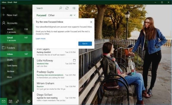Microsoft is improving Windows 10 Mail and Calendar for Gmail users