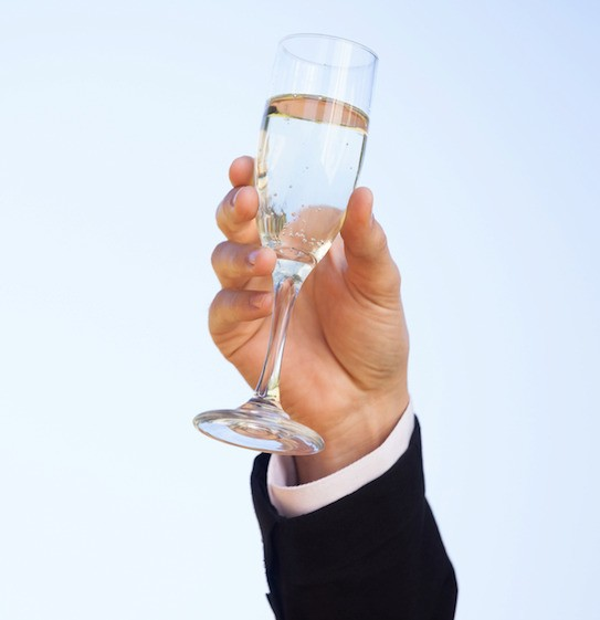 Let's raise a glass to 2015, the year of hyper-relevant marketing tech