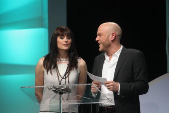 Former X-Play hosts Adam Sessler and Morgan Webb will reunite at Bethesda's E3 press conference