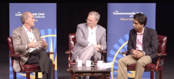 Google's Eric Schmidt has a 10-year prediction of how tech will disrupt whole industries