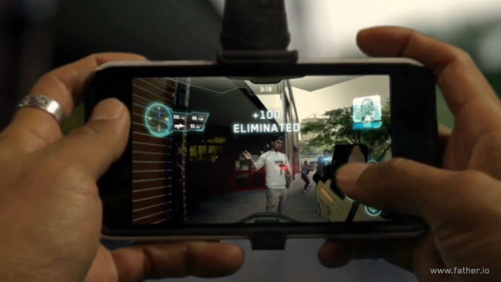 How Father.io uses augmented reality to turn the world into a first-person shooter