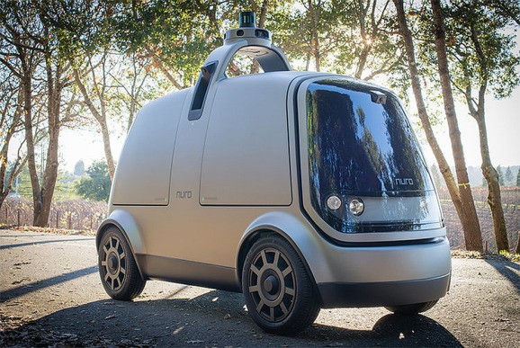 Nuro raises $940 million for robot car deliveries