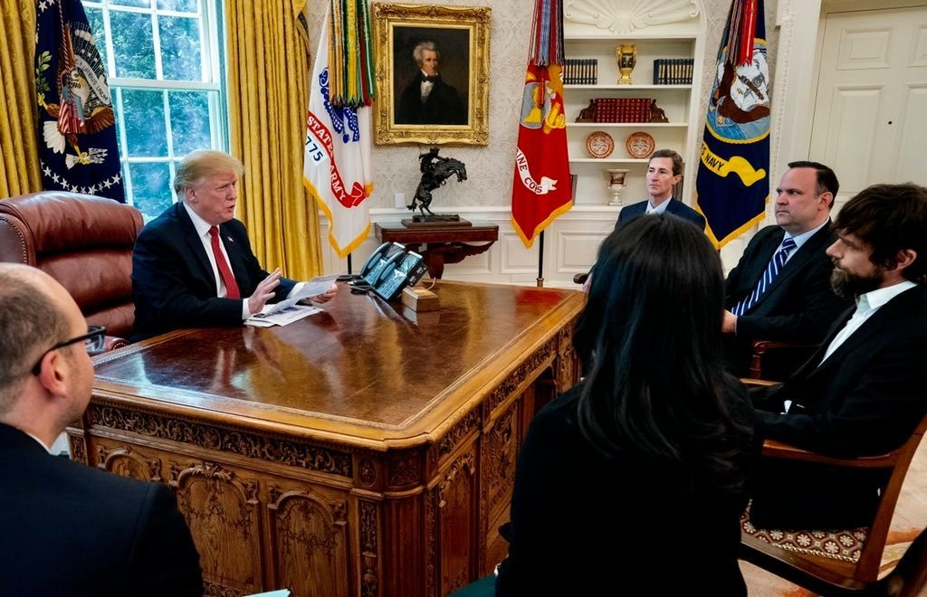 Trump signs executive order attacking Section 230 legal protections for Facebook and Twitter