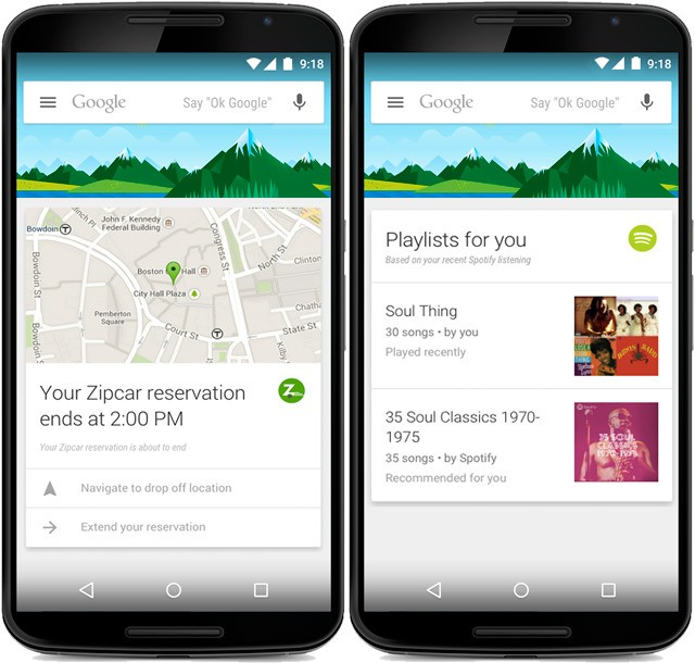 Google Now for Android gets support for 70 more apps