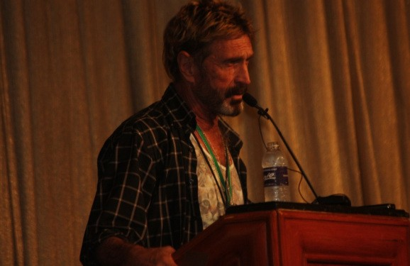 John McAfee's call to arms: If you want freedom, resist Google (video)