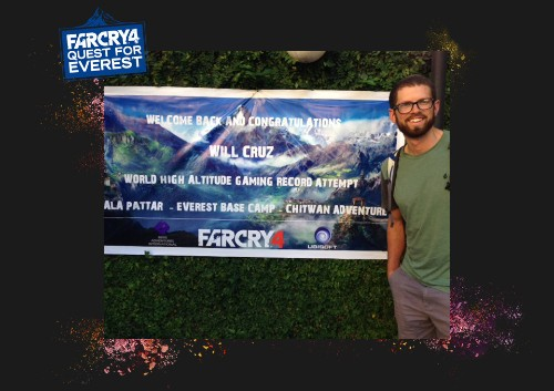 Far Cry 4 fan climbs Mount Everest to play it: 'It all seems so unreal'