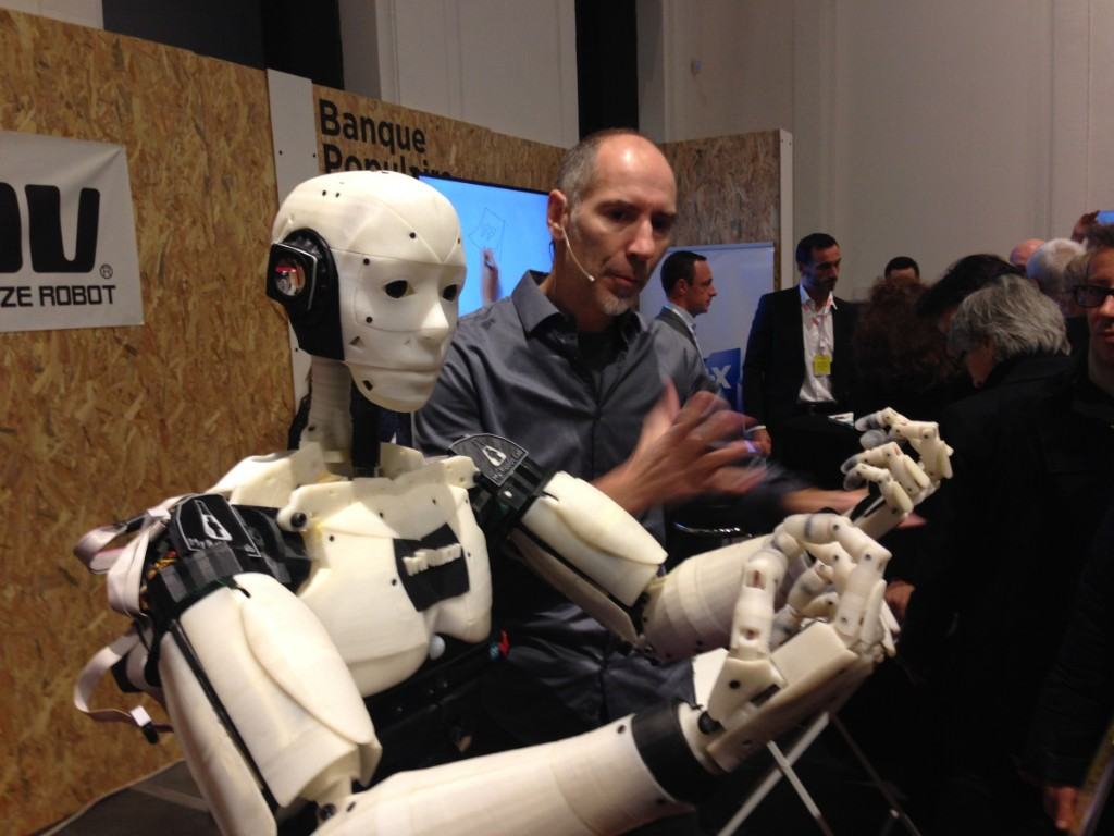 How this French sculptor crowdsourced his 3D-printed, life-size InMoov robot