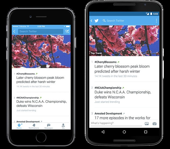 Twitter revamps Trends on Android and iOS, retires Discover and Activity