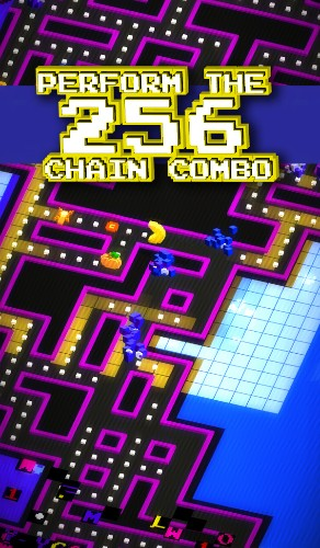 Pac-Man 256 provides endless pill-munching fun