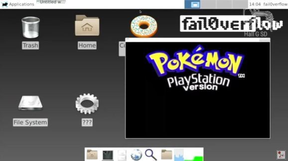 PlayStation 4 hacked to run Linux, Pokémon