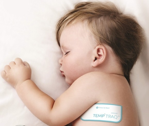 Blue Spark debuts wearable baby thermometer and app