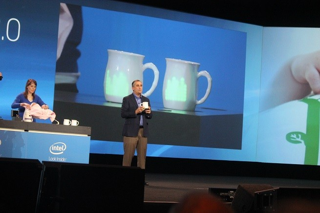 Intel's new boss opens CES with a vision for wearable technology