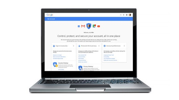 Google rolls out My Account, a new dashboard that promises better privacy and security controls