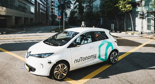 The world's first public self-driving taxi service hits Singapore roads today