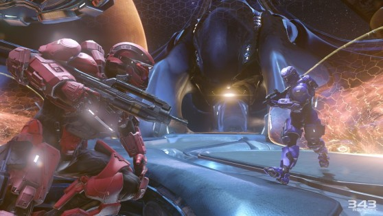 Halo 5: Guardians features exciting 4-player co-op and new enemies