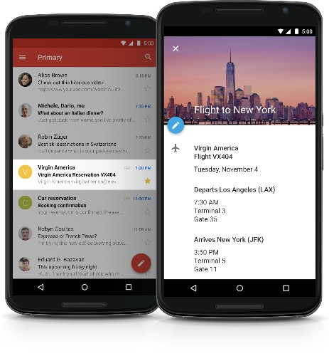Gmail will now automatically add Google Calendar events for emails with flight, hotel, restaurant, or ticket info