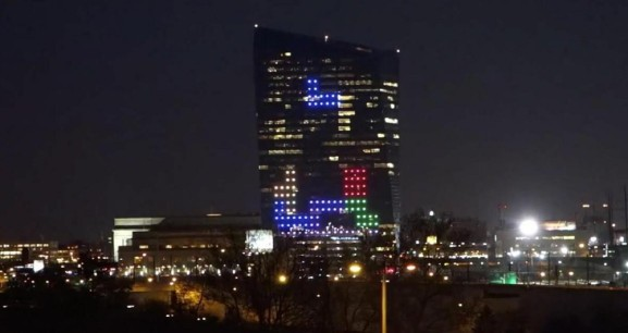 Game designer will turn a skyscraper into the world's largest Tetris game