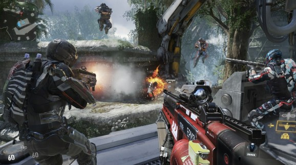 Call of Duty: Advanced Warfare does use dedicated servers — but it also doesn't