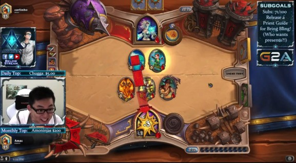 Watch one of the best Hearthstone players lose to a lowly starter deck