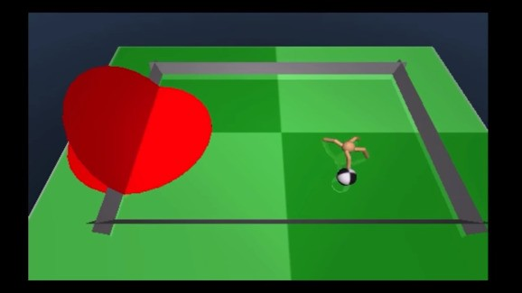 Google's DeepMind A.I. has learned to play a game called ant soccer