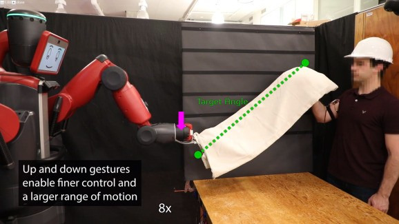 MIT CSAIL's AI system lets wearers control robots with their biceps