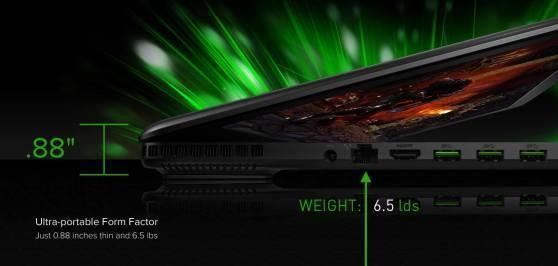 Razer unveils 'the world's thinnest gaming notebook'