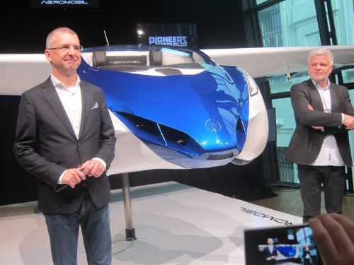 Silicon Valley can keep its Teslas and robotic cars: Slovakia's AeroMobil just unveiled a flying car