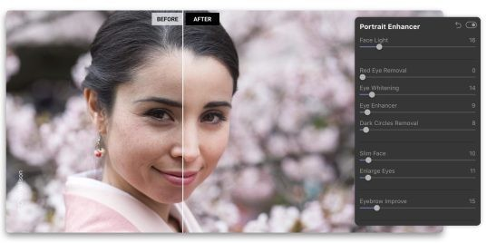 Luminar 4 uses AI to sharpen photos, replace skies, and clean faces