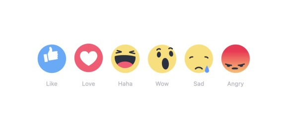 Facebook gives everyone access to Reactions, its 'Like button' extension