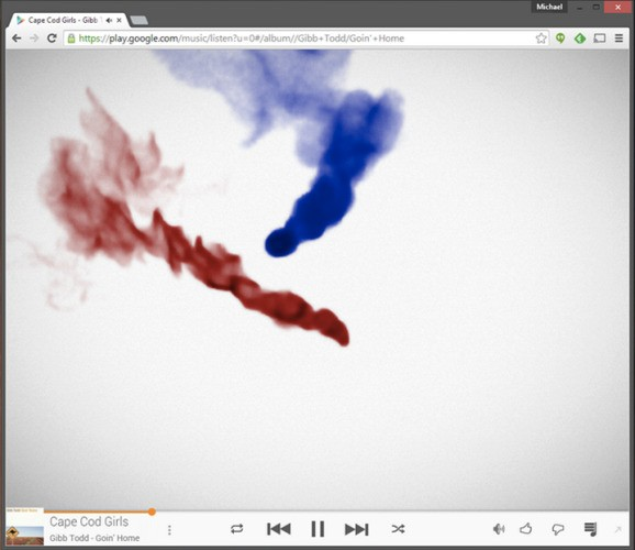 Google Play Music, you're looking pretty fine with your new visualizer