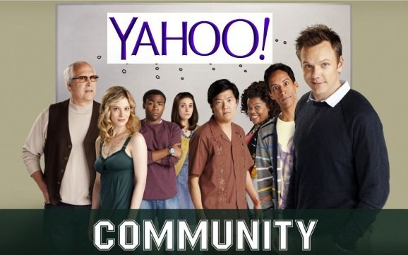 Yahoo makes its original TV play by giving 'Community' a sixth season