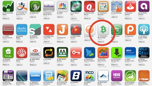 Coin Pocket picks up speed after Apple lifts its Bitcoin wallet ban