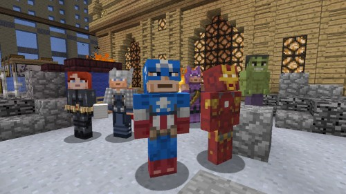 Marvel's 'The Avengers' coming to Minecraft: Xbox 360 Edition soon