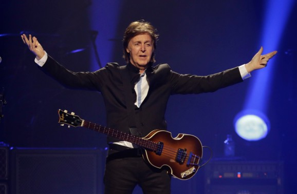 Paul McCartney wrote a song for Destiny, so that's weird