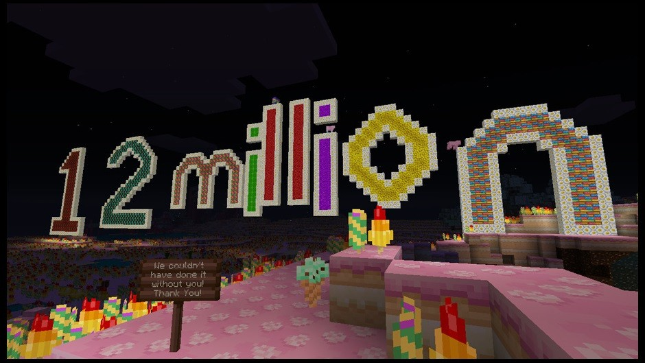 Minecraft puts the 'block' in 'blockbuster' on Xbox 360: 12M copies sold (and counting)
