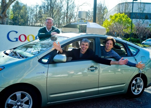 Sergey Brin shares what he loves about Google's self-driving cars