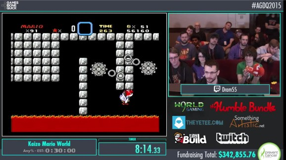 The 'a-hole' version of Super Mario World that's inspiring Mario Maker's hardest stages