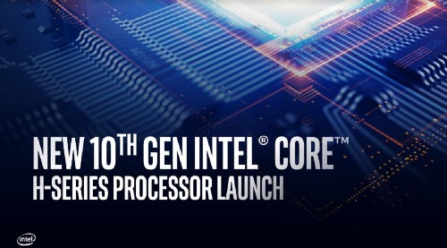 Intel launches 10th Gen Core H-Series laptop processors at up to 5.3GHz