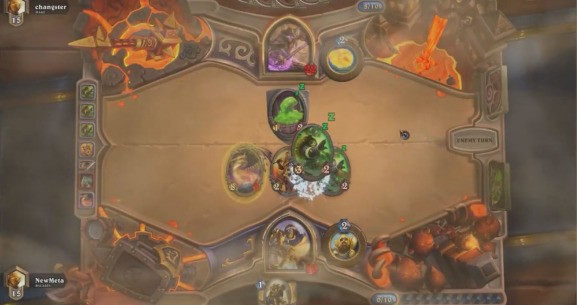 This Hearthstone deck stops your opponent from taking their turn