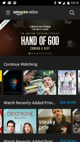 Amazon finally launches standalone Android video-streaming app