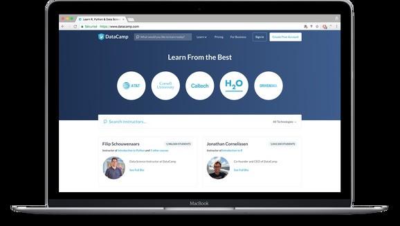DataCamp raises $25 million for customizable online data science courses