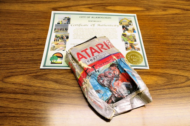 100 old Atari games pulled from landfill have made $37,000 on eBay